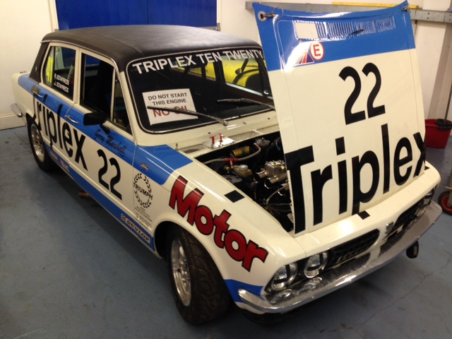 Gerry Marshall Triumph Dolomite Cck Historic