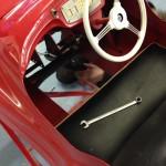 Austin J40 race preparation 2