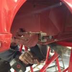 Austin J40 race preparation 4