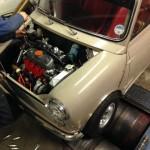 Mk2 Mini 1275 rolling road 3