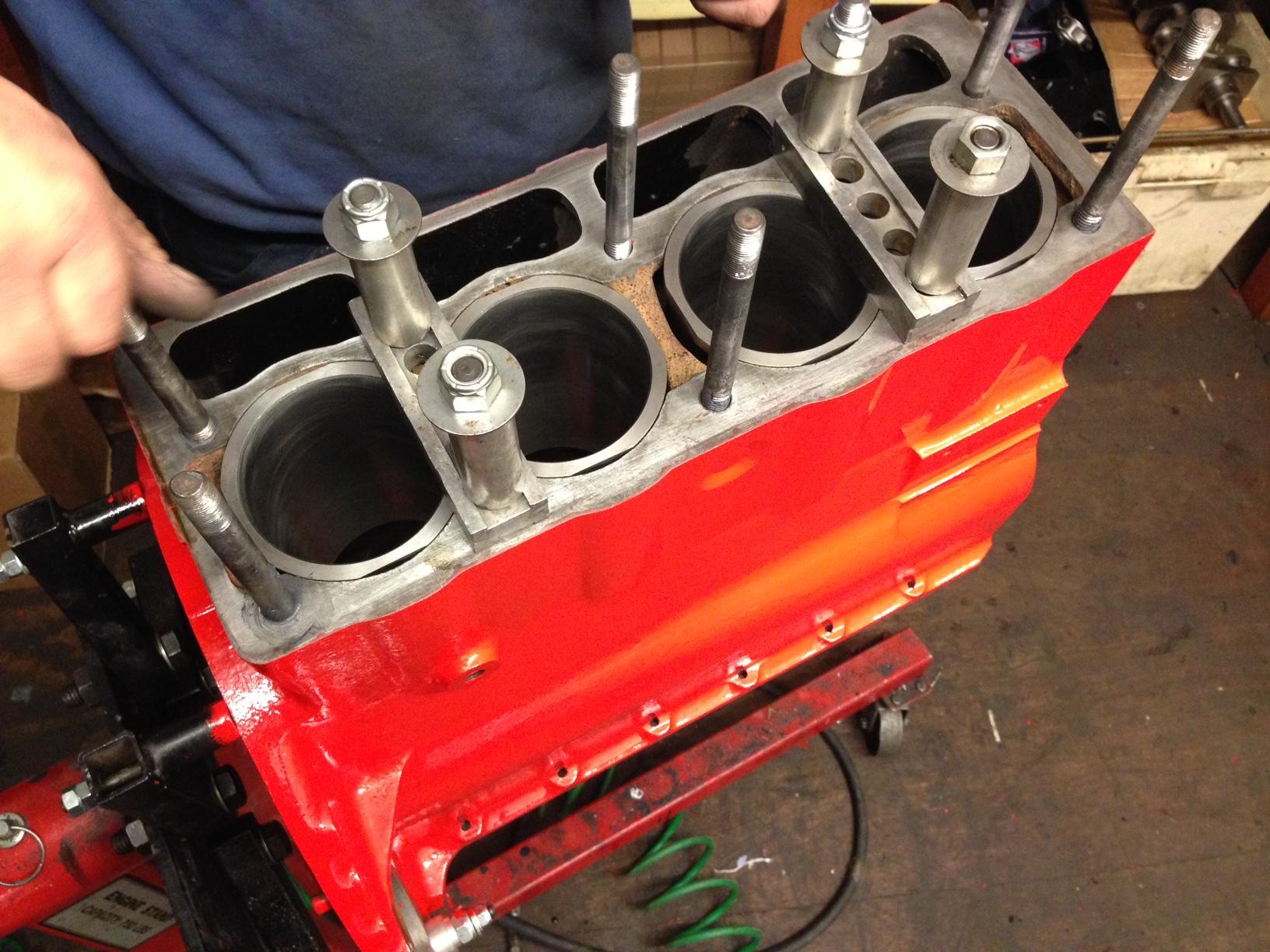 TR4 Engine Rebuild | CCK Historic