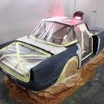 Triumph TR4 paint