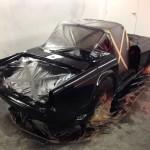 Triumph TR4 paint 2