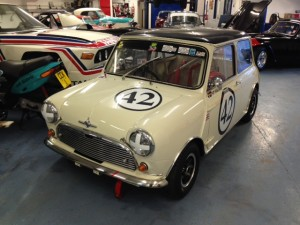 FIA Mini Cooper S race car 2