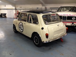 FIA Mini Cooper S race car