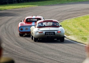 Goodwood Revival TT Ferrari 250GTO Jaguar E-Type