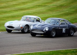 Goodwood Revival TT Jaguar Aston Martin