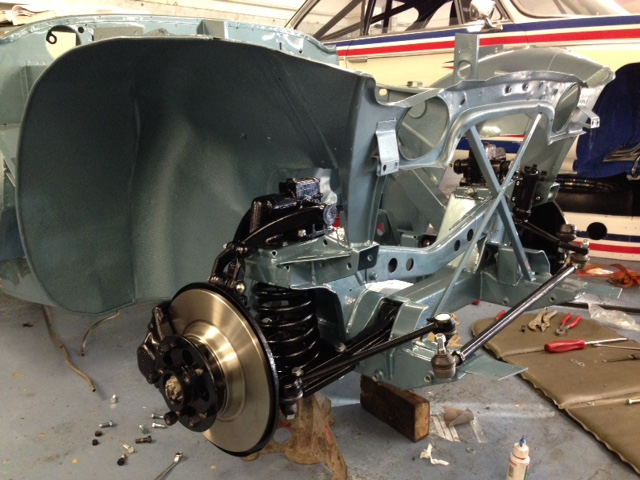 Cck Historic Austin Healey 3000 Mk1 Front End Assembly