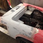 Lotus Elan Sprint fire damage restoration 2