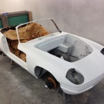 Lotus Elan Sprint restoration paint