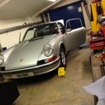 Porsche 911 2.4S rolling road 2
