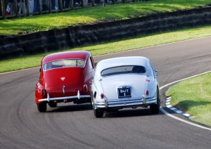 Shaun Rainford Volvo PV544 Grant Williams Jaguar BUY 1 Goodwood Revival St Mary's Trophy