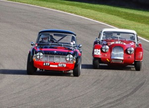 Griffiths Triumph TR4 Goodwood 73rd Members Meeting