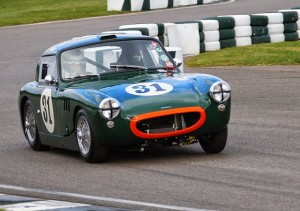 Lumbertubs Sebring Sprite Goodwood chicane