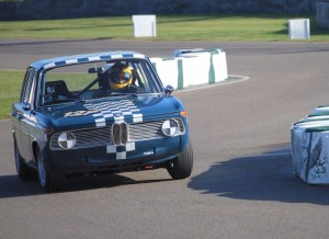 Tim Abbott BMW 1800ti Goodwood