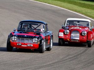 Triumph TR4 Goodwood 73rd Members Meeting