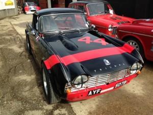 FIA Triumph TR4 HSCC Thruxton