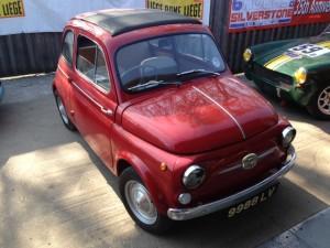 Fiat 500 service