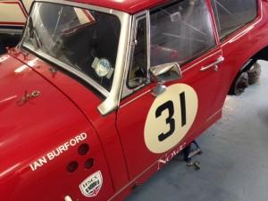 Ian Burford Lenham historic race car preparation