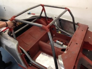 Paul Tarry Sebring Sprite custom roll cage 2