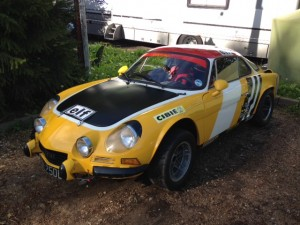 Paul Godfrey Alpine A110