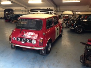 1968 Mk2 Mini Cooper S Works Rally replica Monte Carlo 2