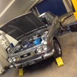 Datsun Bluebird 1600SSS rolling road