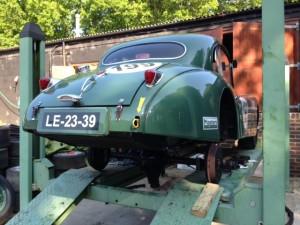 Jaguar XK140 rear axle repair