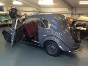 1938 BMW 320 Saloon rear roll cage