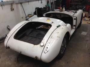 1956 MGA restoration 2