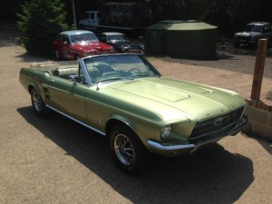 67 mustang 289 convertible 4 speed