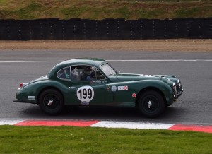 Joao Mira-Gomes Jaguar XK140 Brands Hatch