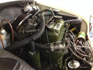 Mk1 Mini 1330cc twin HS2 carburettors