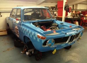 Darren Turner Paul Bartley BMW 1800ti Goodwood Revival