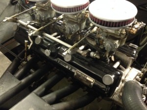 AC Ace Bristol engine tuning