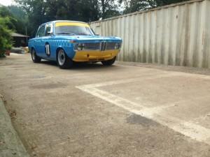 Darren Turner Paul Bartley BMW 1800ti Goodwood Revival 2