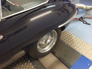 4.2 Jaguar E-type rolling road tune