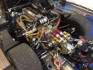 ADR Prototype Britcar Sports Racer rolling road 2