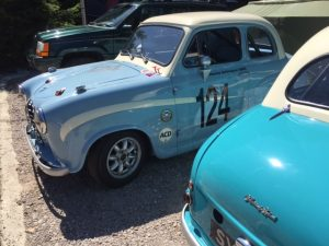 Academy Austin A35 rolling road tuning Goodwood Revival