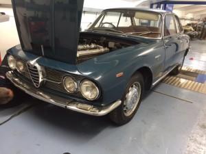 Alfa Romeo 2600 Sprint rolling road tune