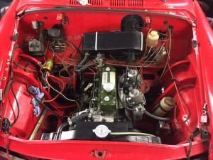 Austin A40 fast road LHD twin SU Mini manifold