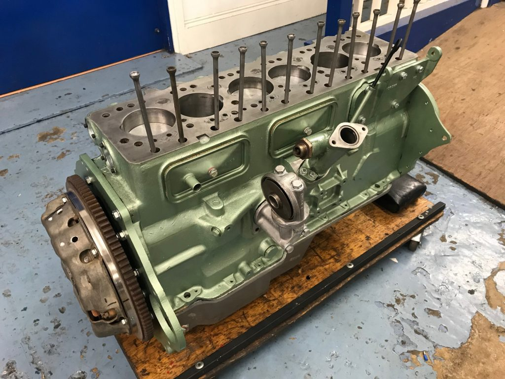 Austin Healey 3000 engine rebuild