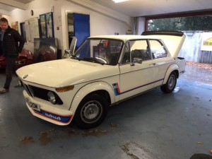 BMW 2002 Turbo repair 2
