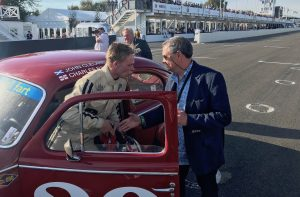 St Marys Trophy Goodwood Revival John Cleland Charles Rainford