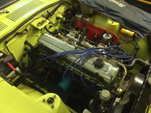 datsun-240z-rolling-road-tune-engine-bay