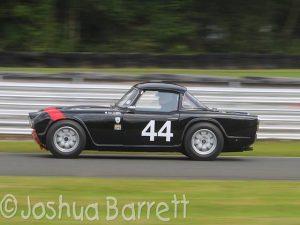 Dave Griffiths Triumph TR4 Oulton Park Gold Cup cck historic