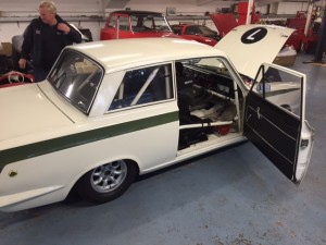 David Moran Mk1 Lotus Cortina FIA CSCC