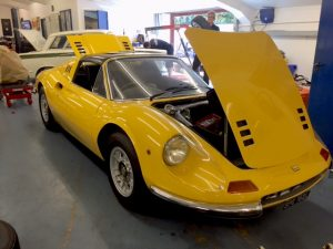 Dino 246 classic Ferrari service and repair