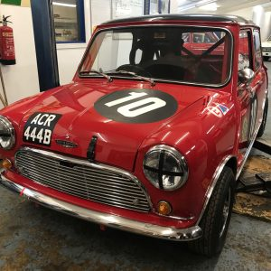 FIA Mini Cooper S Goodwood Members Meeting