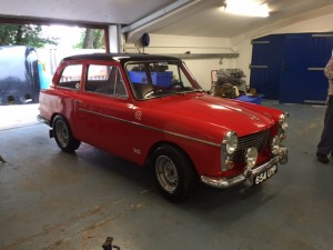 Fast road Austin A40 completed 2